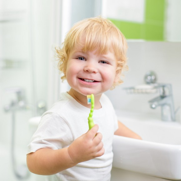 Kids' Dental Care Habits Must Start at Home